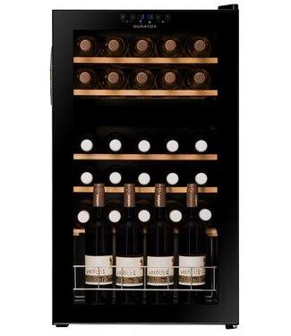 DUNAVOX Weinkühlschrank mit Glastür - Dunavox DX-30.80DK