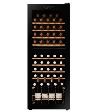 DUNAVOX Weinkühlschrank mit Glastür - Dunavox DX-54.150DK