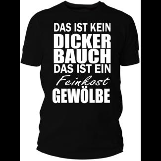 Feinkost Gewölbe (Damen & Herren T-Shirt mit Farbauswahl)