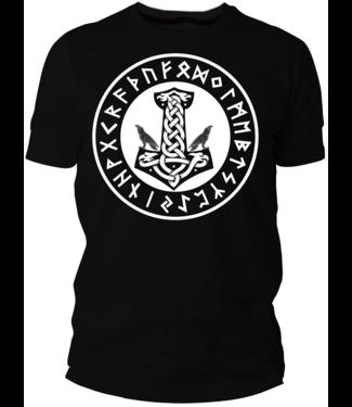 Thor Hammer Shirt Motiv (Damen & Herren T-Shirt mit Farbauswahl)