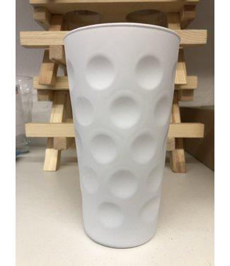 Dubbeglas Weiss 0,5 Liter (Farbige Dubbegläser)
