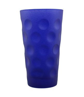 Dubbeglas blau matt 0,5l