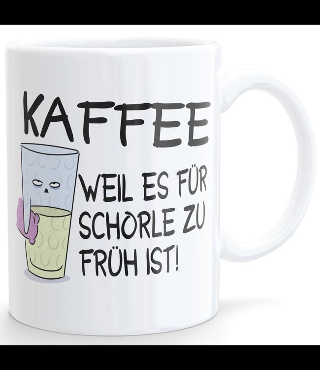Kaffee - weil es für Schorle zu früh ist