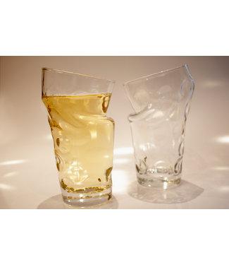 Knickschoppe - Dubbeglas mit Knick