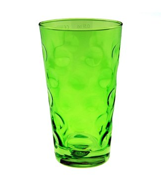 Dubbeglas Grün Glanz