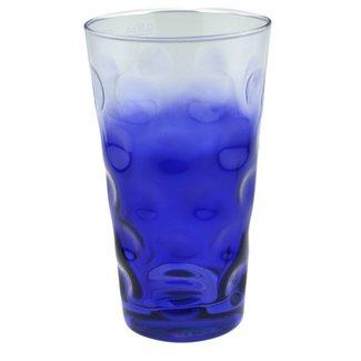 Dubbeglas Kobaltblau (3/4 farbig)