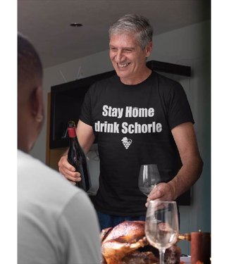 Stay Home drink Schorle!
