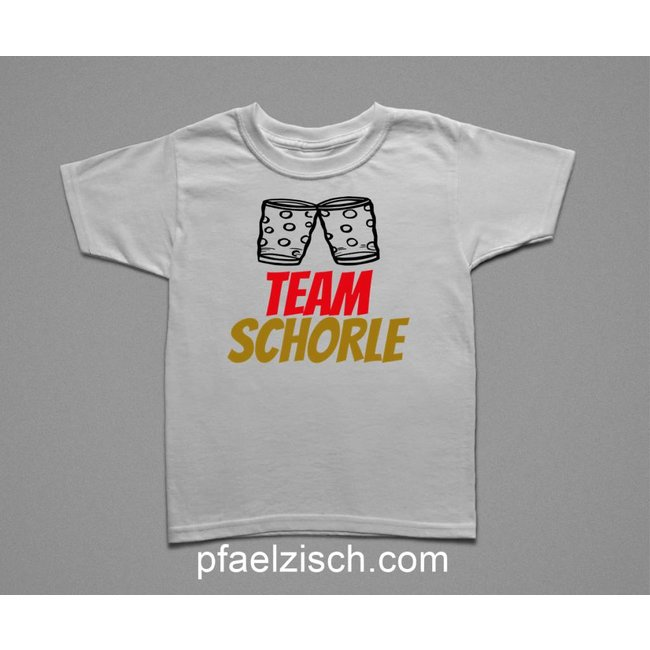 Team Schorle (Kindershirt)
