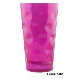 Dubbeglas pink Glanz