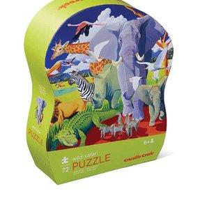 Crocodile Creek 72 pc Puzzle/Wild Safari