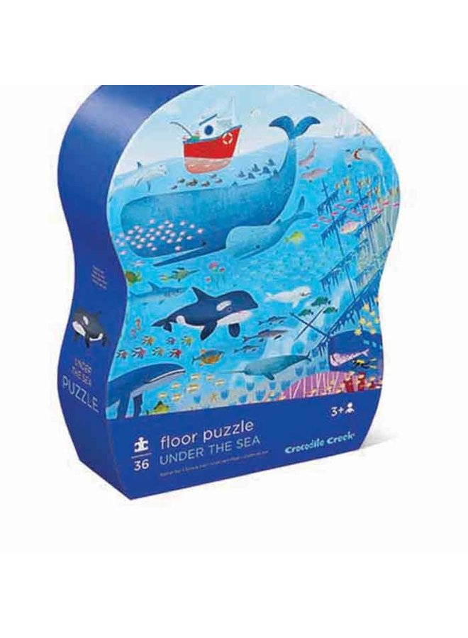 36 pc Shaped Puzzle/Under the Sea