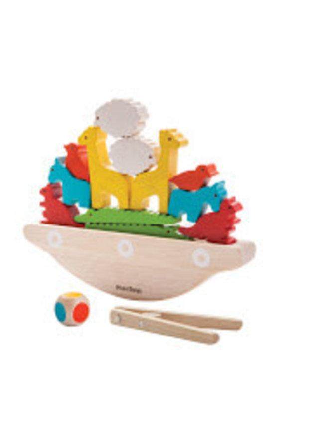 Balancing Boat