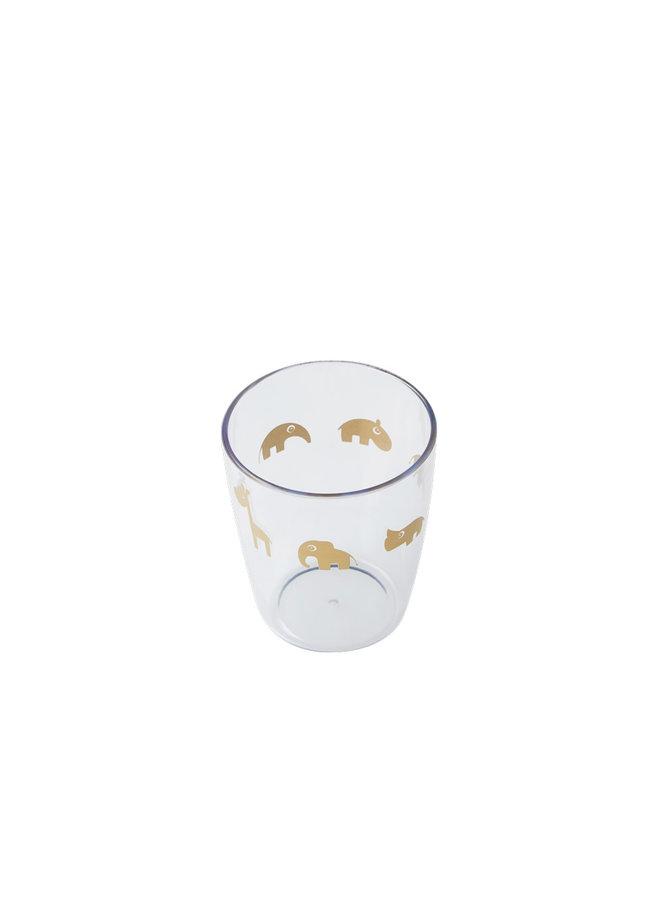 Yummy mini glass, gold