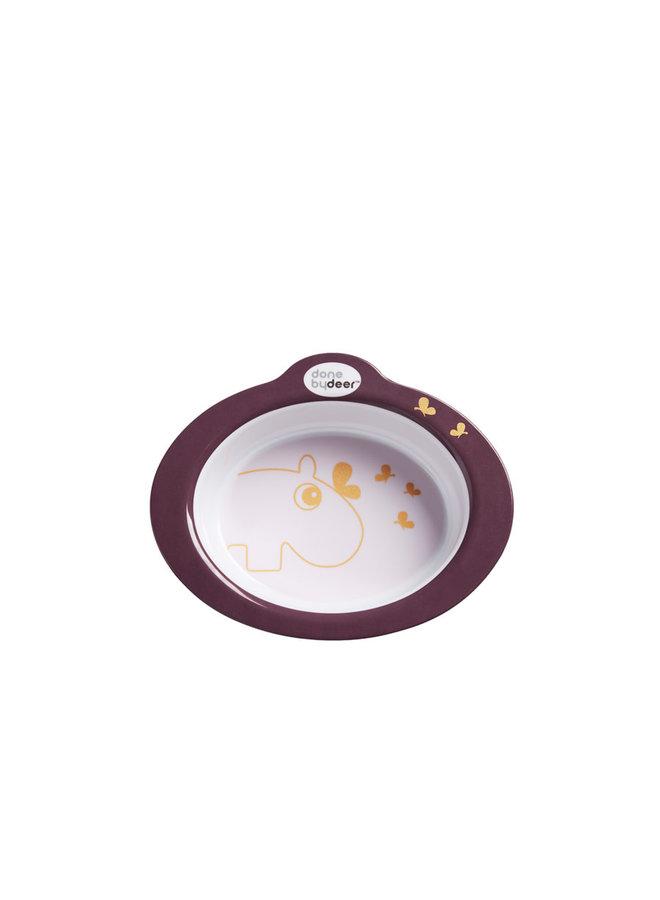 Anti-slip bowl, Contour, Dark powder