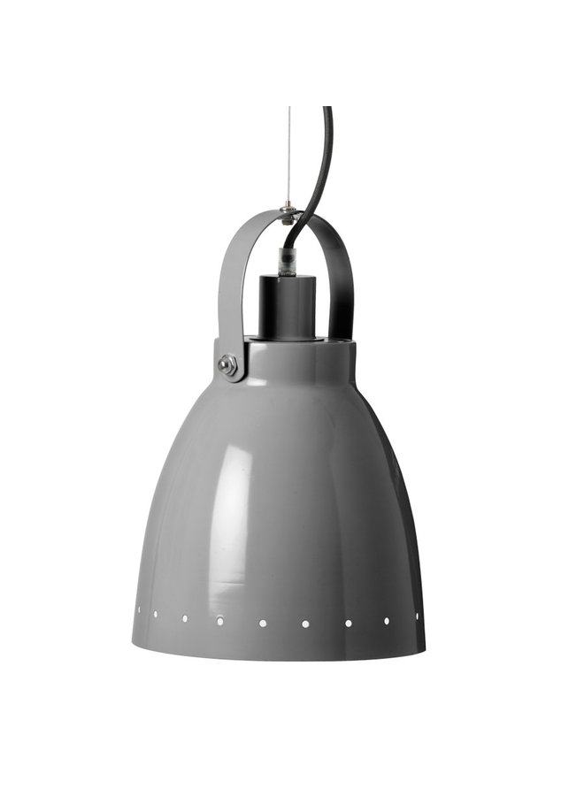 Metal lamp, grey