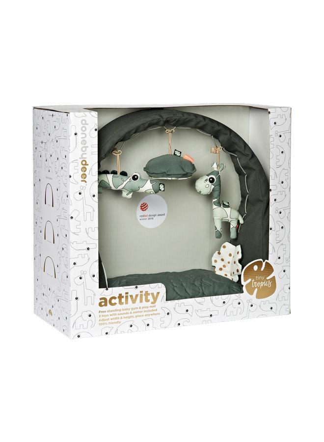 Activity gym & play mat, Tiny tropics