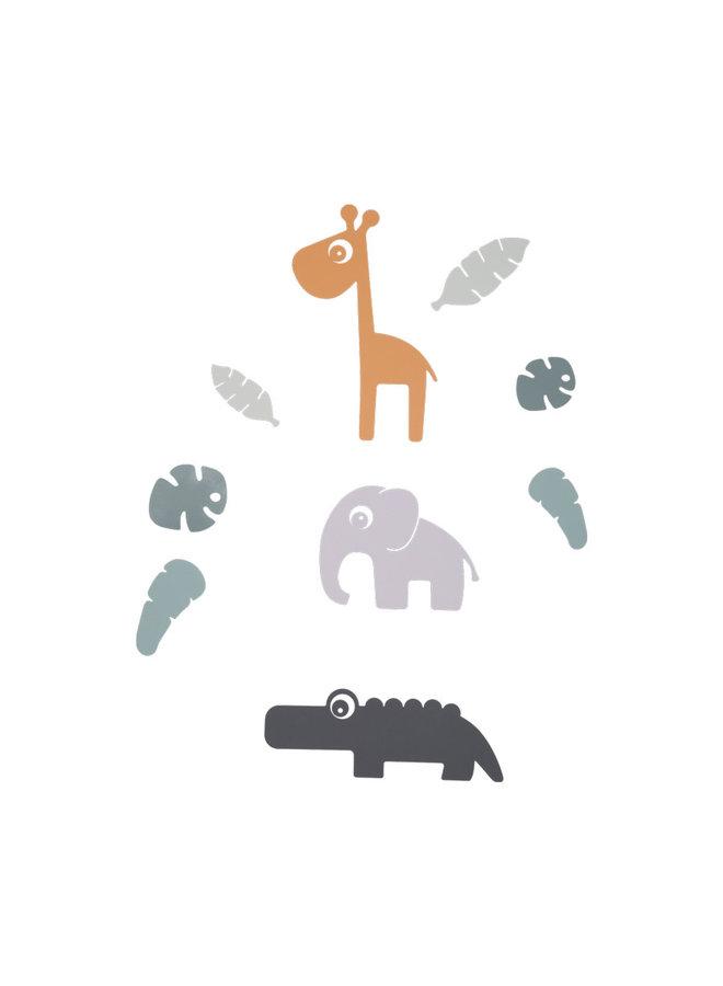 Wall stickers, Tiny tropics
