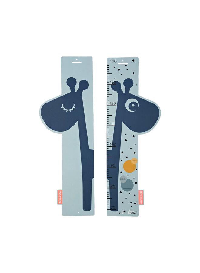 Height measurer, Raffi, blue