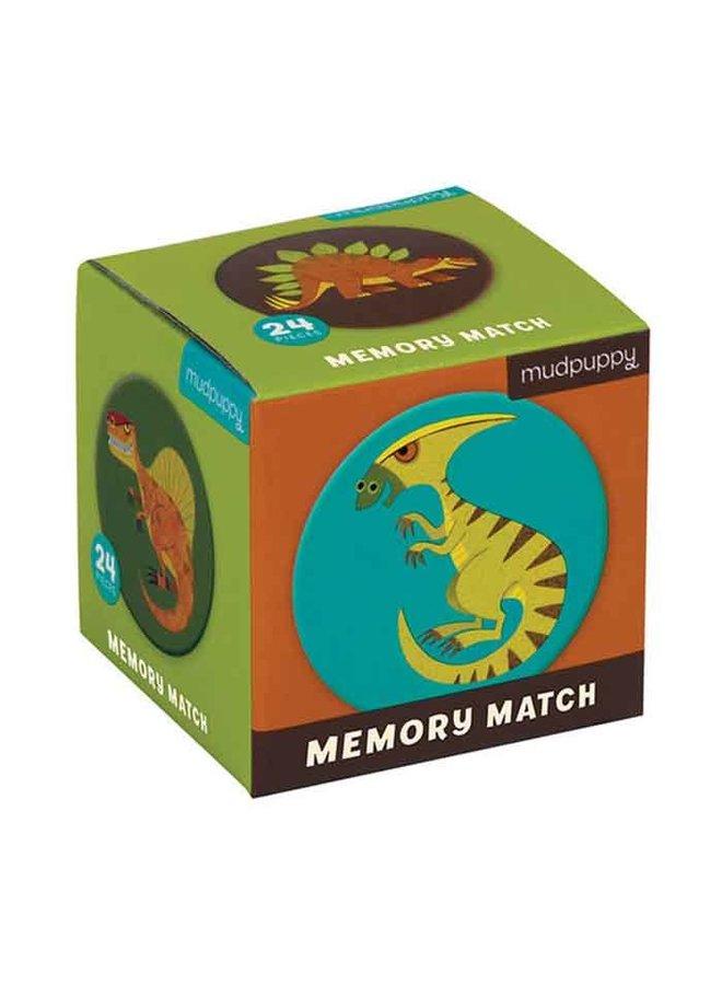 """Mini memory-spel """"Mighty Dinosaurs"""""""