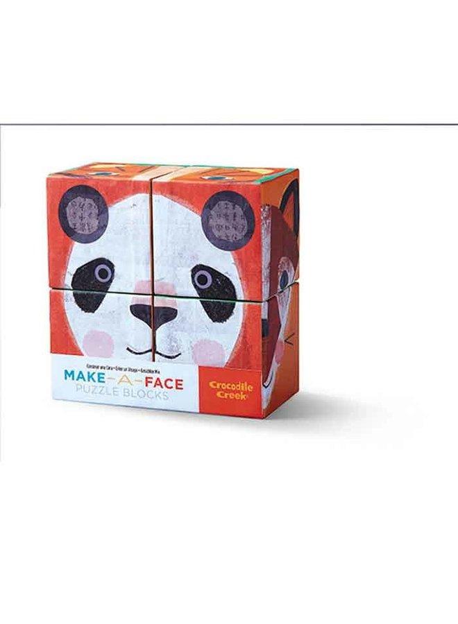4 pc Block Set/ Make a Face