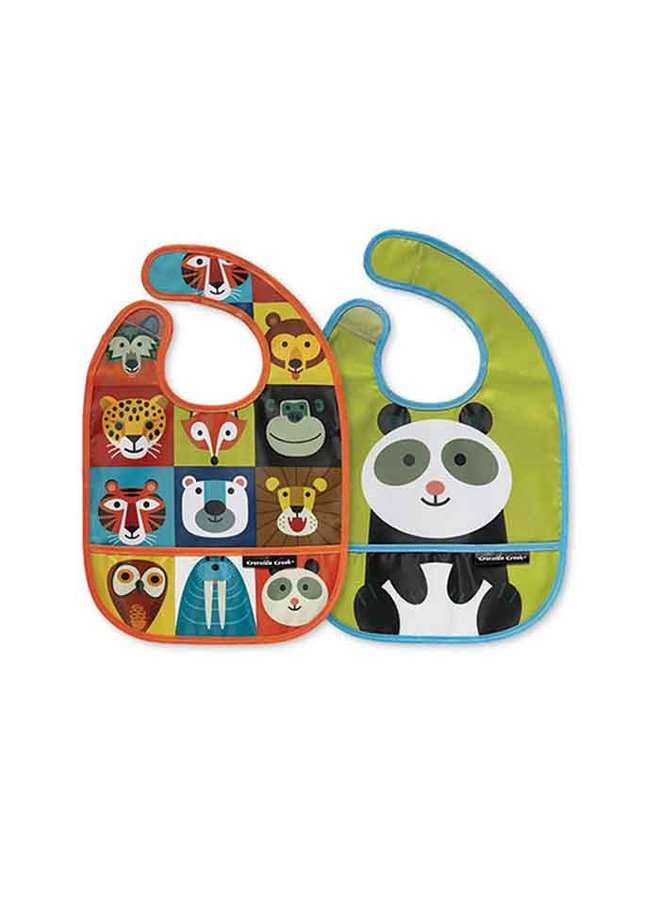 Bib Set/ Animalia