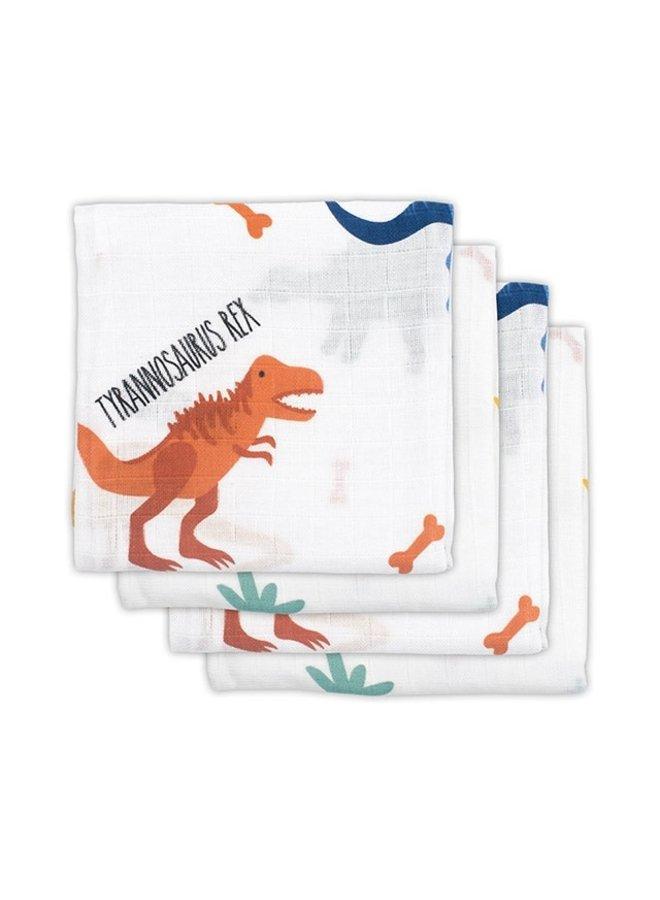 4 Hydrofiele Multidoeken 70-70cm Dino's
