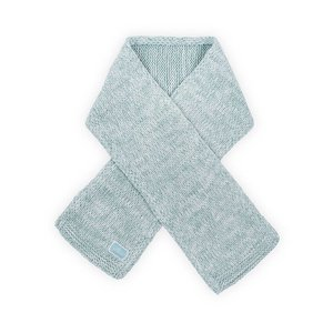 Jollein Sjaal Melange knit soft green