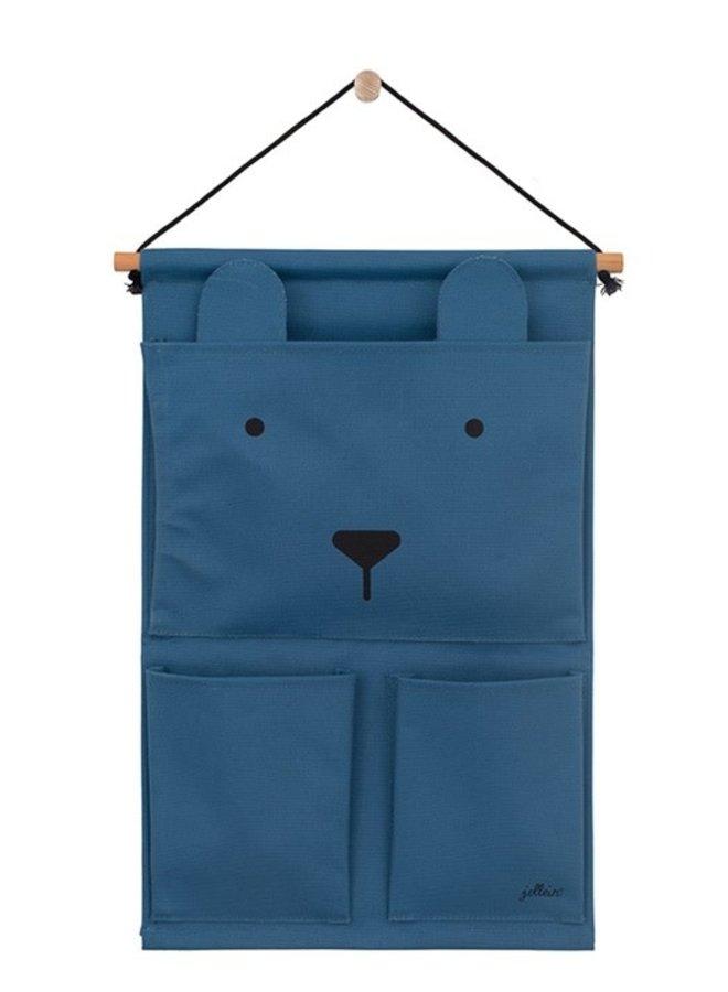 Wandorganizer Animal club Steel blue