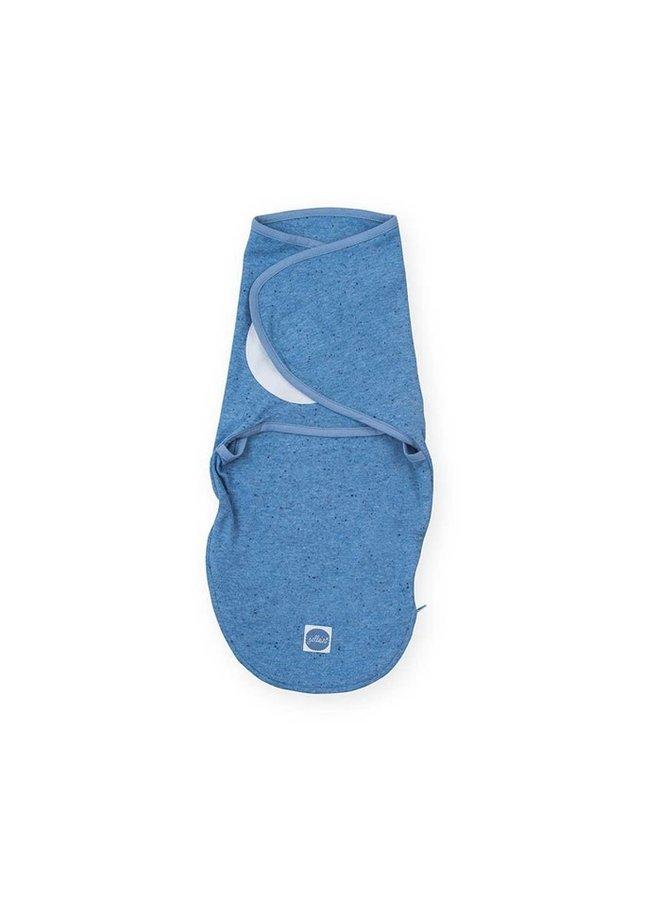 Wrapper sleeping bag blue