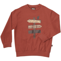 CarlijnQ Sweater Red / Print on Front