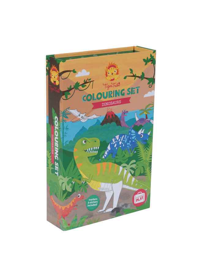 Colouring Set/Dinosaurs