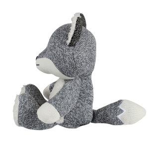 Flow Robin the Fox Comforter grey