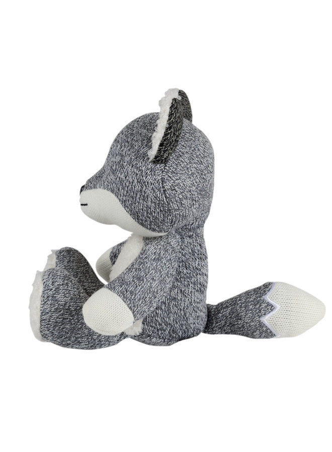 Robin the Fox Comforter grey