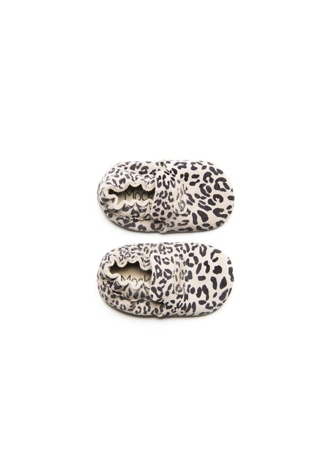First steps Leopard grey XS