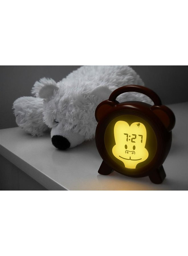 BC-100 Slaaptrainer- nachtlampje-wakker Monkey