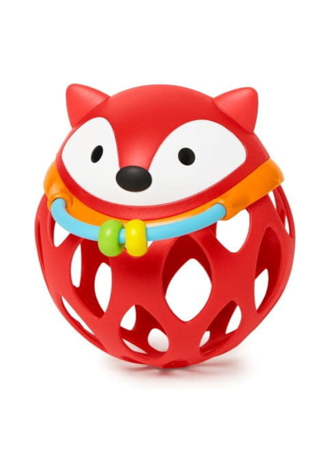 Roll-Around Rattle- Fox