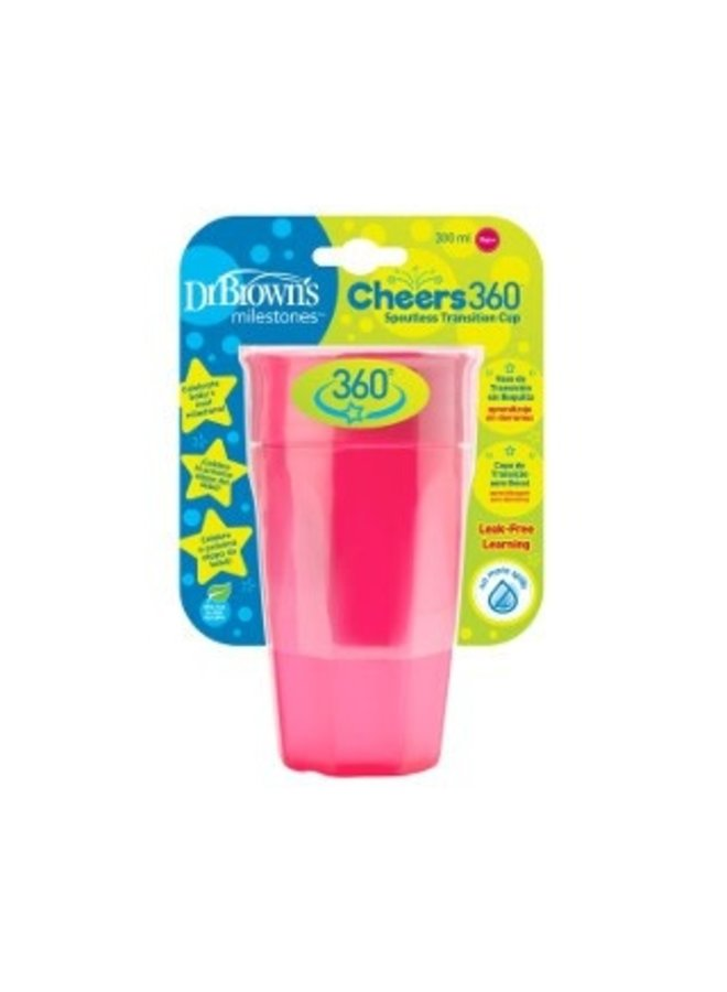 Cheers 360° Roze 300 ml