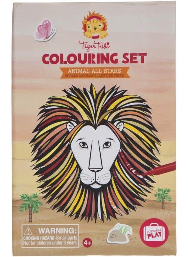 Colouring Set/Animal All-Star