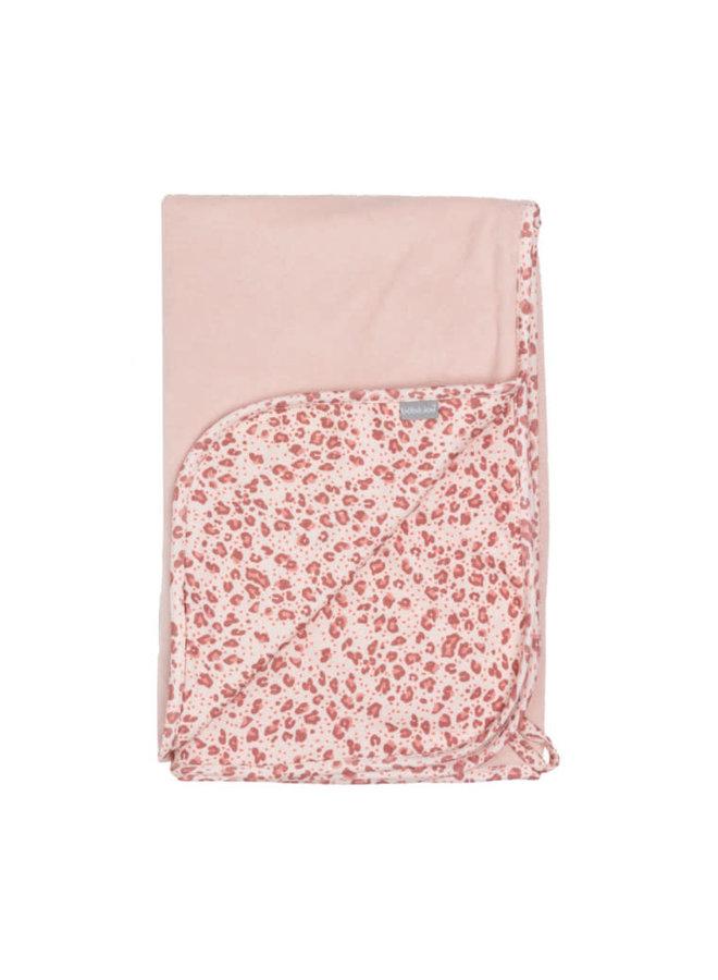 Baby multidoek / Leopard pink