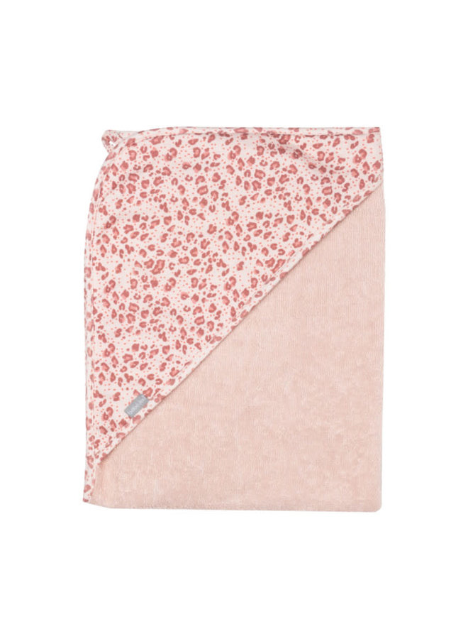Badcape / Leopard pink
