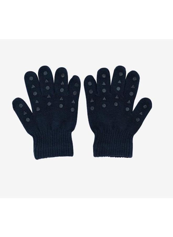 Grip Gloves 2-3Y Petrol Blue