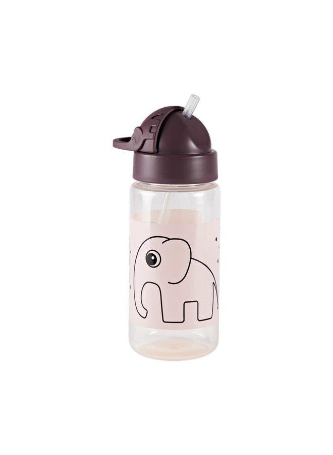 Straw bottle, Elphee, Powder