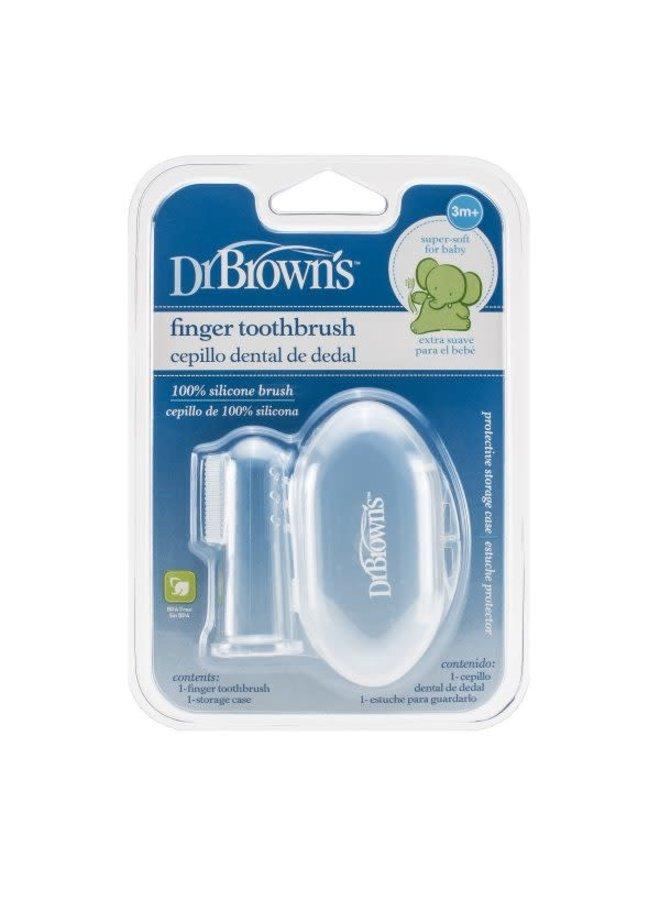 Vingertop tandenborstel