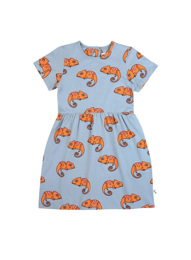 Chameleon girl - shortsleeve dress