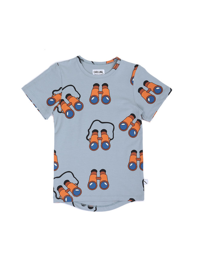 Binocular - t-shirt drop back