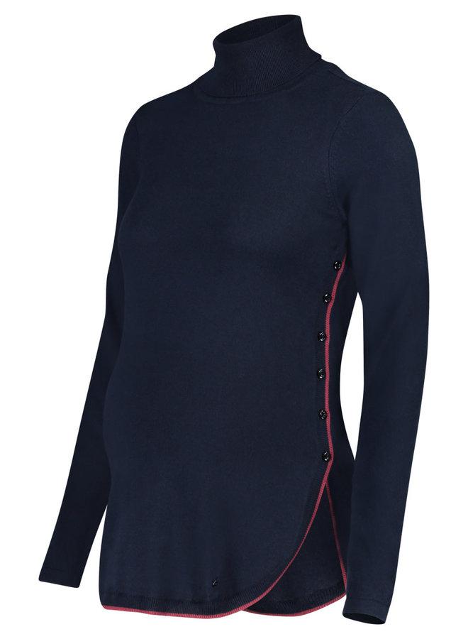 Sweater met voedingsoptie