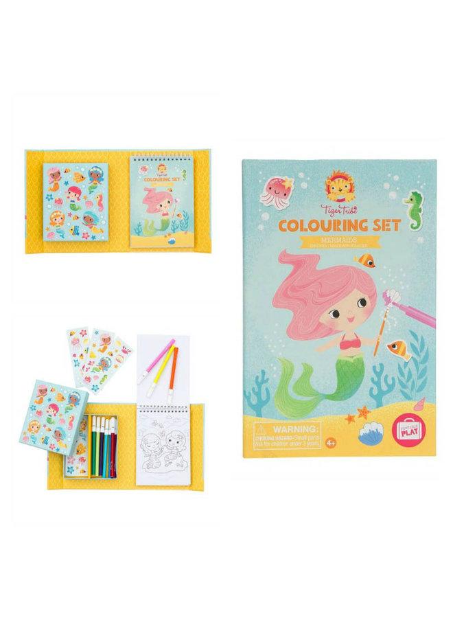 Colouring Set/Mermaids