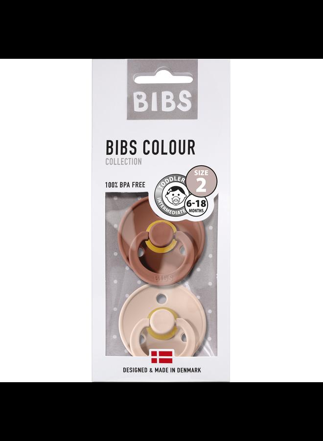 Bibs fopspeen T2 - Woodchuck / Blush