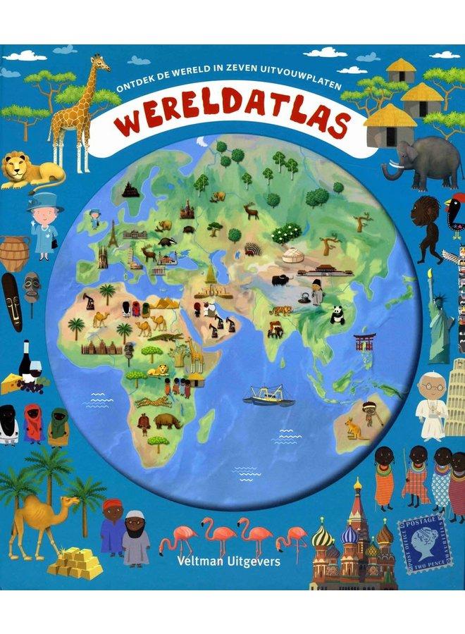 "Kinderboek ""Wereldatlas"""