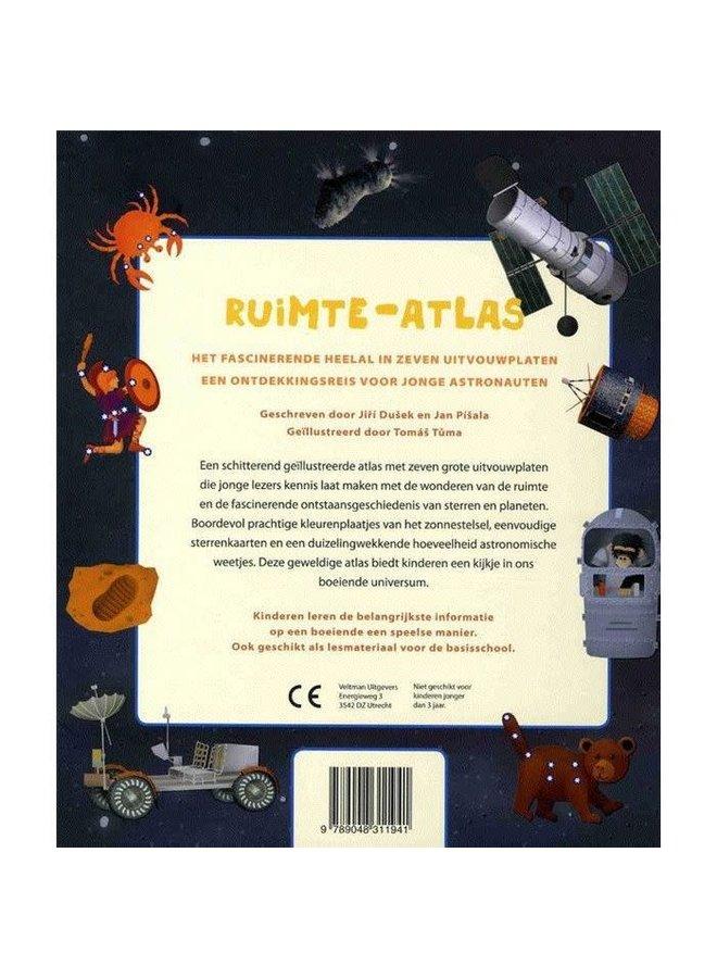 """Kinderboek """"Ruimte-Atlas"""""""
